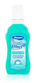 Fresh Effect Alcohol Free antibacterial mouthwash 300ml