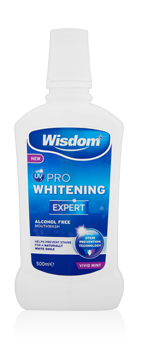 UV Pro Whitening Expert Alcohol Free mouthwash 500ml