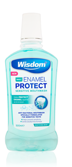 Daily Enamel Protect Sensitive antibacterial mouthwash 500ml