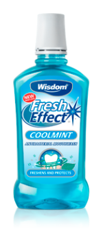 Fresh Effect Coolmint antibacterial mouthwash 500ml
