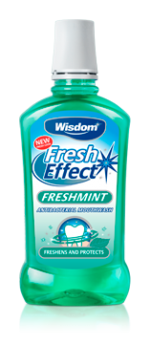 Fresh Effect Freshmint antibacterial mouthwash 500ml