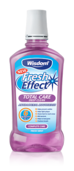 Fresh Effect Total Care 6-in-1 antibacterial mouthwash 500ml