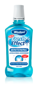 Fresh Effect Whitening antibacterial mouthwash 500ml