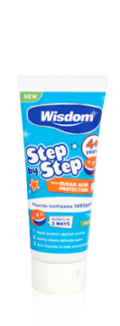 Step by Step 4+ years Cavity & Enamel defence fluoride toothpaste 75ml