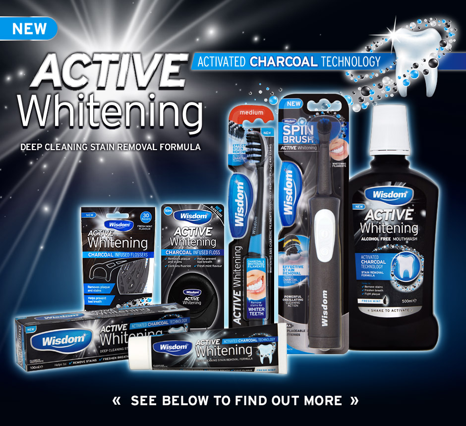 Active Whitening Charcoal