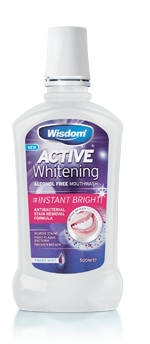 Active Whitening Instant Bright Mouthwash 500ml